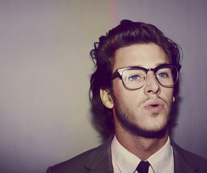 boy, gaspard ulliel, and glasses image