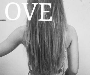 only love black and white image