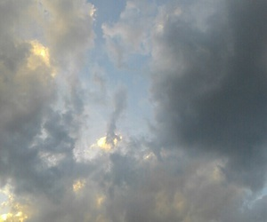 clouds, nature, and pale image