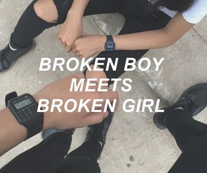 5sos, broken, and boy image