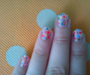 beautiful, dots, and colorfully image