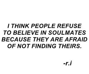 quotes, soulmates, and sad image