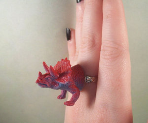 dinosaur and ring image