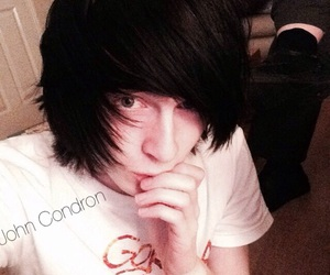 emo, scene hair, and emo boys image