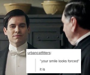 funny, OMG, and downton abbey image