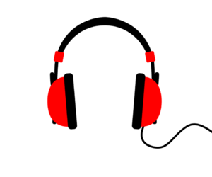 headphones and music image
