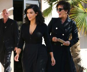 fashion, kris jenner, and kim kardashian west image