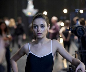 Mila Kunis, black swan, and ballet image