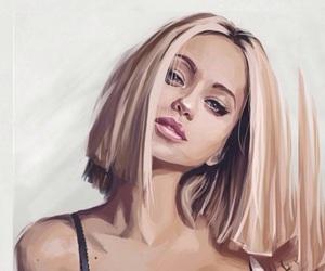 art, girl, and girly image