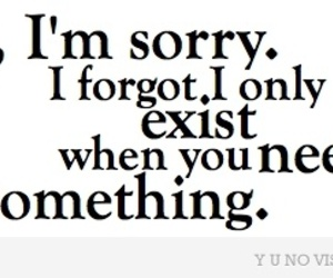 text, sorry, and exist image
