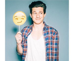 charlie puth, charlieputh, and emoji image