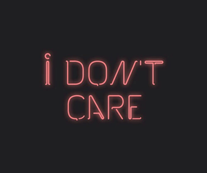 i don't care, care, and grunge image