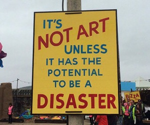 alternative, disaster, and art image