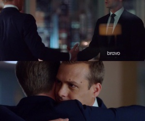 suits, harveyspecter, and mikeross image