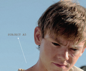 newt, thomas brodie sangster, and the scorch trials image