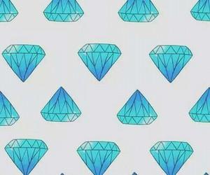 diamond, wallpaper, and blue image
