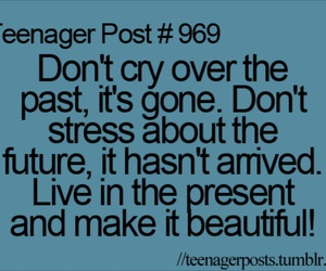teenager post, present, and quote image