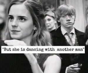 dancing, harry potter, and when i was your man image