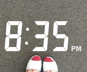 shoes and snapchat image