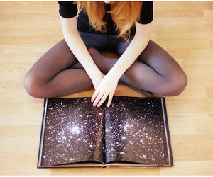 astronomy, stars, and book image