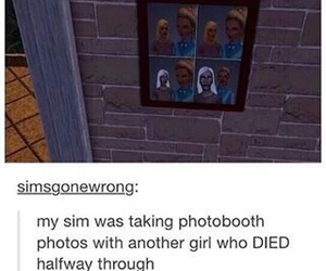funny, sims, and lol image