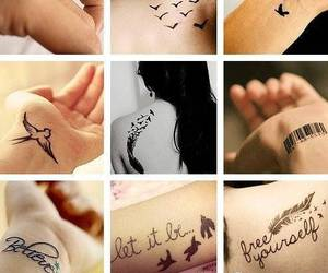 meaningful, small, and Tattoos image