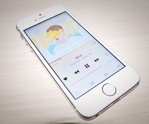 iphone, music, and song image