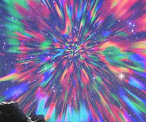 colorful, trippy, and tumblr image