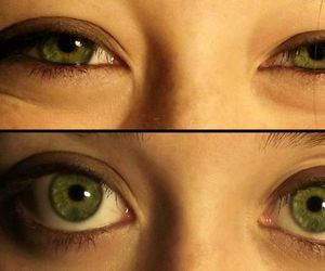 eyes, happy, and green image