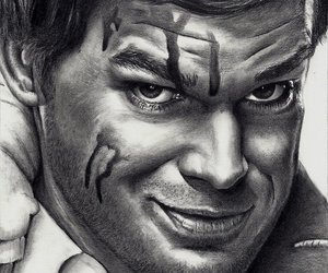 dexter morgan and Michael C. Hall image