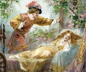 beauty, flowers, and fairy image