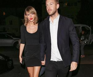 calvin harris, Taylor Swift, and love image