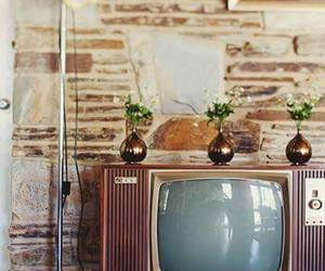 interior, retro, and television image