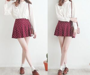 fashion, red, and cute image