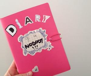 burn book, diary, and diy image