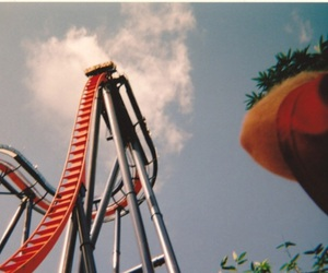 indie, retro, and Roller Coaster image