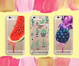 pineapple, water melon, and phone cases image
