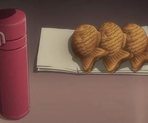 anime food, taiyaki, and taiga ko image