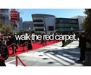 before i die and red carpet image