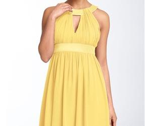 chiffon, homecoming dress, and junior prom dress image