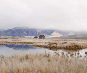 house, montana, and nature image