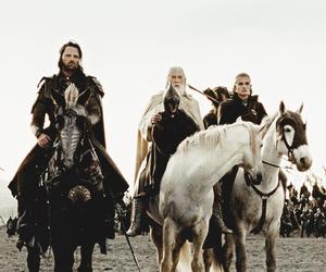 aragorn, gandalf, and Legolas image