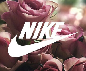 nike, roses, and beautiful image