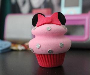cupcake, pink, and disney image