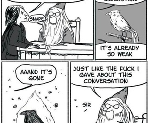 harry potter, funny, and snape image