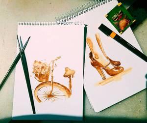 amazing, art, and bike image