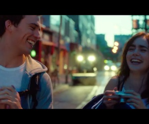 couple, happiness, and laugh image