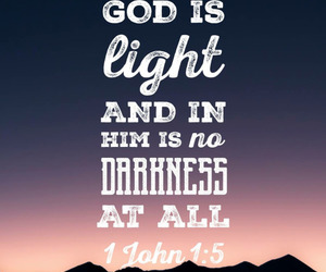 Darkness, god, and light image