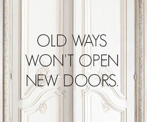 door and quote image