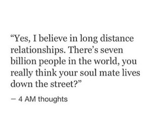 quotes, Relationship, and distance image